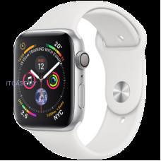 Часы Apple Watch Series 4 GPS, 40mm Silver Aluminium Case with White Sport Band, Model A1977 MU642GK/A