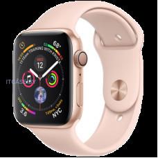 Часы AppleWatch Series4 GPS, 40mm Gold Aluminium Case with Pink Sand Sport Band, Model A1977 MU682UA/A