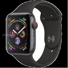 Часы Apple Watch Series 4 GPS, 44mm Space Grey Aluminium Case with Black Sport Band, Model A1978 MU6D2UA/A
