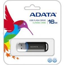 A-DATA Память (USB flash) 16GB USB 2.0 Flash Clasic black AC906-16G-RBK