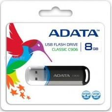 A-DATA Память (USB flash) 8GB USB 2.0 Flash Clasic black AC906-8G-RBK