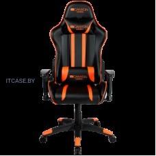 Кресло для геймеров Canyon Fobos CND-SGCH3 черно-оранжевое CND-SGCH3