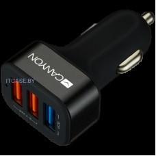 Адаптер питания CANYON Universal 3xUSB car adapter CNE-CCA07B