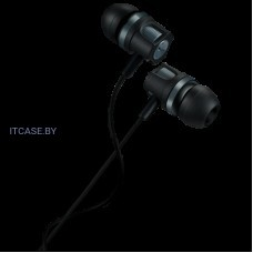 Наушники CANYON Stereo earphones with microphone, 1.2M, dark gray CNE-CEP3DG