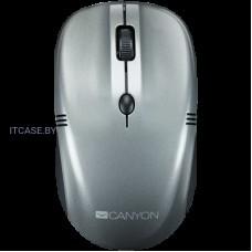 CANYON 2.4Ghz wireless mice, 4 buttons, DPI 800/1200/1600, dark gray pearl glossy CNE-CMSW03DG