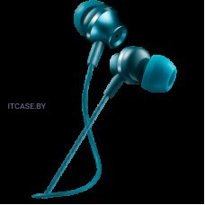 Наушники CANYON Stereo earphones with microphone, metallic shell, 1.2M, blue-green CNS-CEP3BG