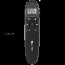 Пульт указка (презентер) CANYON 2.4Ghz laser wireless presenter, red laser indicator, LCD display timer, Black CNS-CP03
