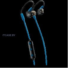Наушники Bluetooth Canyon Bluetooth sport earphones with microphone, 0.3m cable, blue CNS-SBTHS1BL