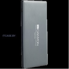 CANYON Power bank 5000mAh (Color: Dark Gray), bulit-in Lithium Polymer Battery CNS-TPBP5DG