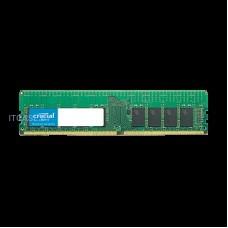 CRUCIAL Память для сервера 16GB DDR4-2666 RDIMM, CL=19, Dual Ranked, x8 based, Registered, ECC, DDR4-2666, 1.2V, 2048Meg x 72 CT16G4RFD8266