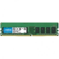 Память для сервера 16GB DDR4 2666 MT/s (PC4-21300) CL19 DR x8 ECC Unbuffered DIMM 288pin CT16G4WFD8266