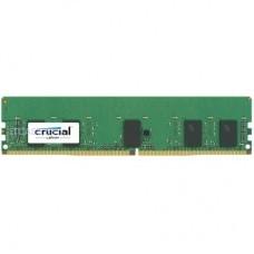 Crucial Память для сервера 8GB DDR4 2666MT/s (PC4-21300) CL19 SR x8 ECC Registered DIMM 288pin CT8G4RFS8266