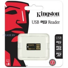 Память Flash Kingston MicroSD Reader Gen 2 (USB 2.0) EAN: 740617152326 FCR-MRG2