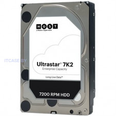 Жестский диск для сервера HDD Server HGST Ultrastar 7K2 (3.5'', 2TB, 128MB, 7200 RPM, SATA 6Gb/s, 512N SE) SKU: 1W10002 HUS722T2TALA604