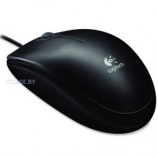 LOGITECH Corded  Мышь B100 - Business EMEA - BLACK L910-003357
