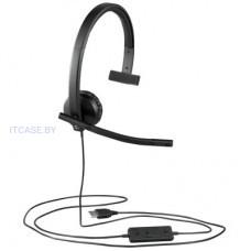 Веб-камера LOGITECH UC Corded Mono USB Headset H570e (Leatherette Pad) - Business EMEA L981-000571