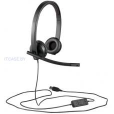 Веб-камера LOGITECH UC Corded Stereo USB Headset H570e (Leatherette Pad) - Business EMEA L981-000575