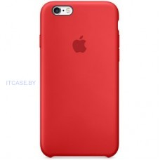 Apple Чехол iPhone 6s Silicone Case - (PRODUCT)RED MKY32ZM/A