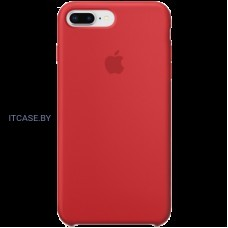 Чехол iPhone 8 Plus / 7 Plus Silicone Case - (PRODUCT)RED MQH12ZM/A