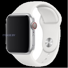 Ремешок для часов Apple Watch 40mm White Sport Band - S/M & M/L, Model MTP52ZM/A