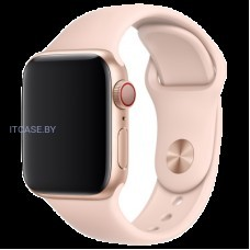 Ремешок для часов Apple Watch 40mm Pink Sand Sport Band - S/M & M/L, Model MTP72ZM/A