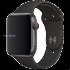 Ремешок для часов Apple Watch 44mm Black Sport Band - S/M & M/L, Model MTPL2ZM/A