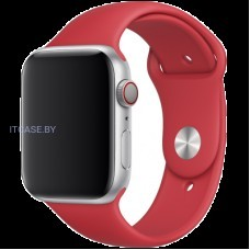 Ремешок для часов Apple Watch 44mm (PRODUCT)RED Sport Band - S/M & M/L, Model MU9N2ZM/A
