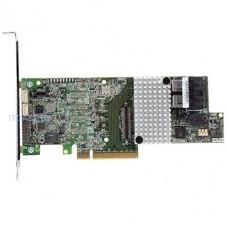 RAID контроллер INTEL  RS3DC040 4ch 1000МБ до 128 устройств (PCI Express 3.0 x8, SAS/SATA III, Уровни RAID: 0, 1, 10, 5, 50, 6, 60), Single RS3DC040