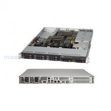 Корпус для Сервера Supermicro 1U rackmount chassis, support for motherboard size: 12 x 13 E-ATX Optimized for X11 WIO (W series) motherboards SC113AC2-R706WB2