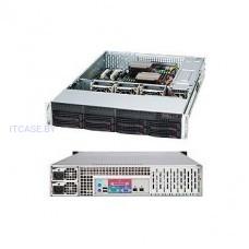 Корпус для Сервера SUPERMICRO CSE-825TQC-R1K03LPB 8x 3.5 Hot-swap SAS3/ SATA Drive Bays & 2x Fixed 3.5 Drive Bays SC825TQC-R1K03LPB