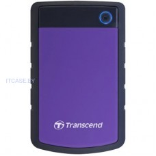 Жесткий диск внешний Transcend 2TB StoreJet 2.5'' H3P, Portable HDD TS2TSJ25H3P